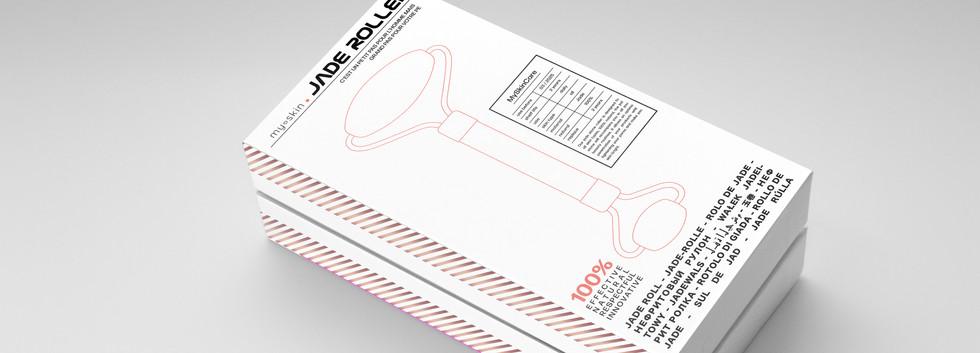 Jade Roller packaging