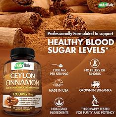 Diabetes NutriFlair Ceylon Cinnamon