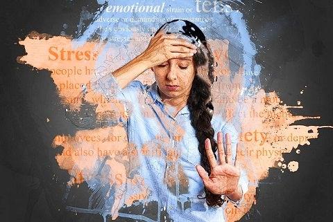 Stress causes high blood pressure