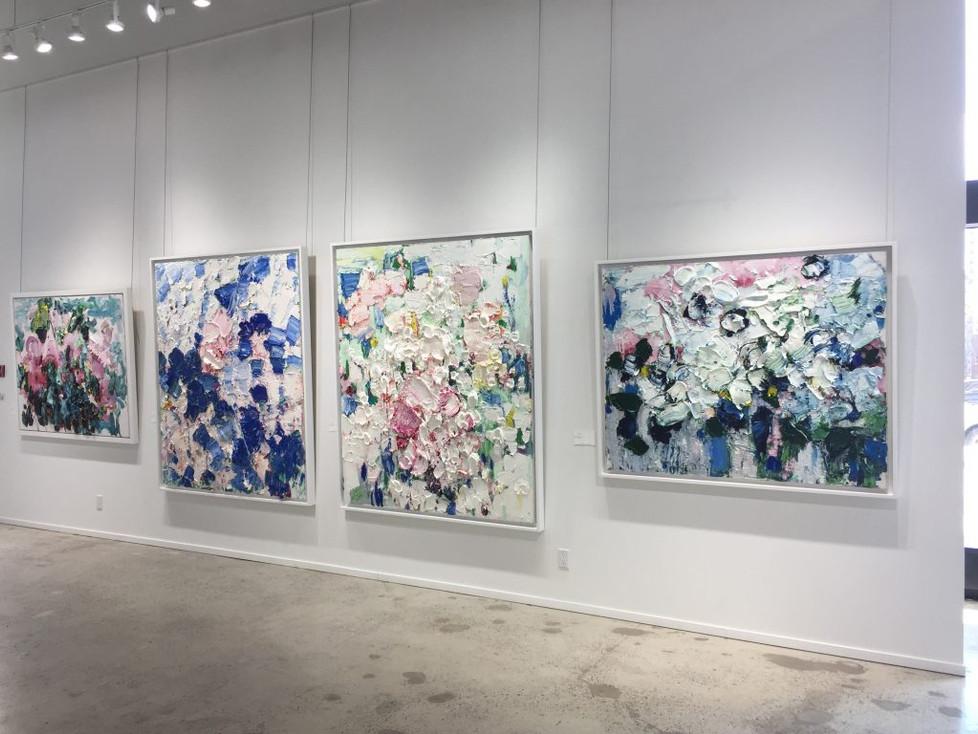 Galerie de Bellefeuille installation view