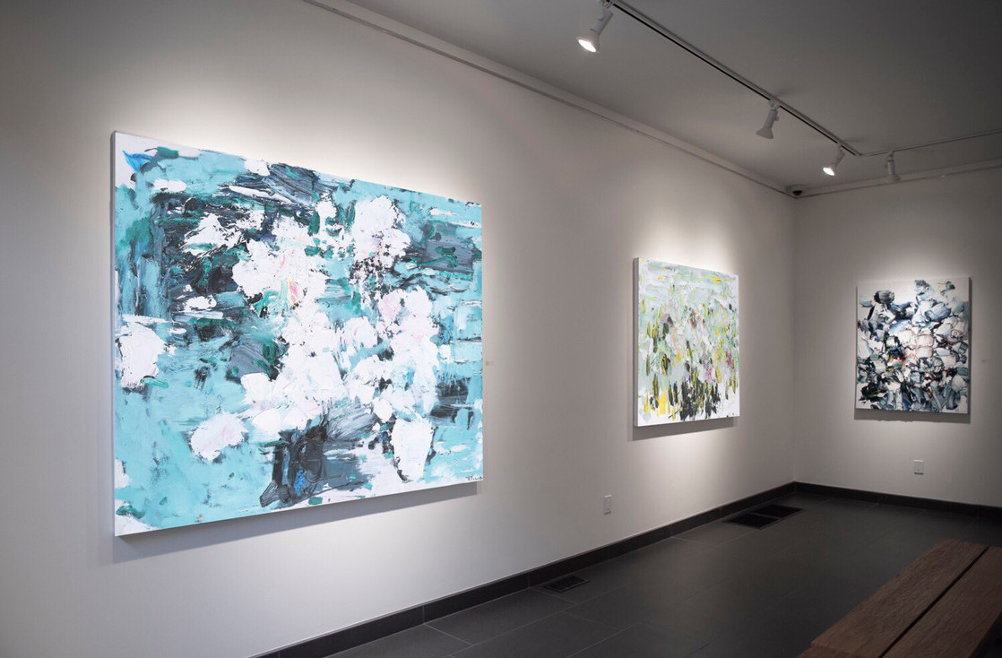Odon Wagner installation view