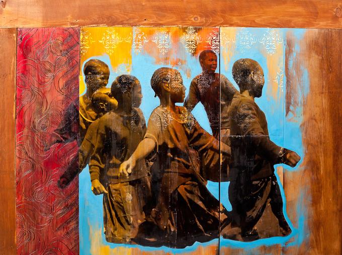 """Shanna Strauss, """"Uringo Bayoyo"""", 2015, média mixe, 30 x 40in"""