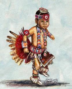 Acrylic - Little Chief