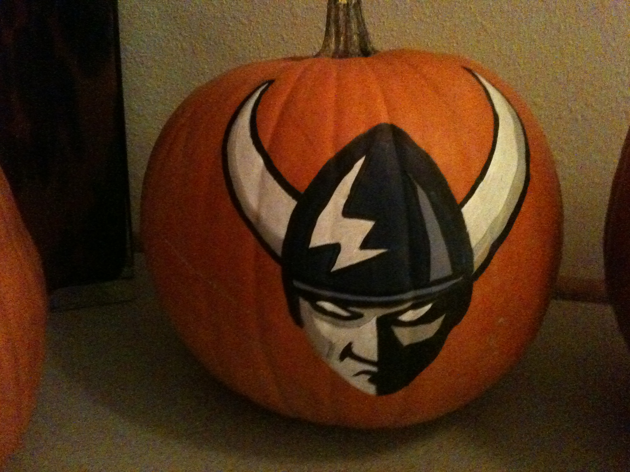 Custom handpainted pumpkins