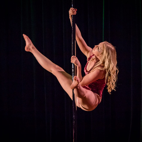 Sarah the Pole Dancer