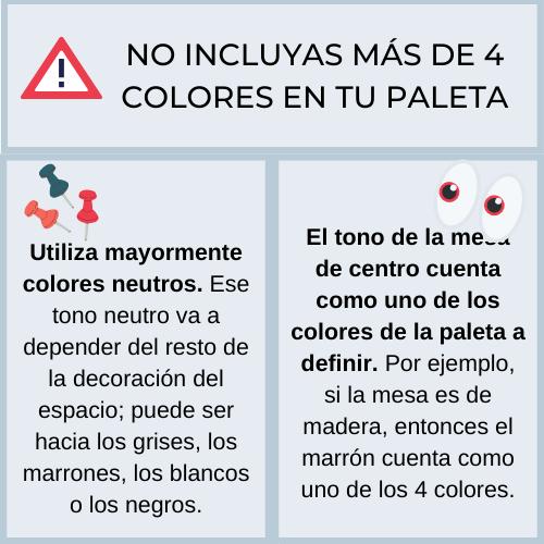como escoger una paleta de colores para decorar