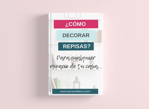 ¿Cómo decorar repisas? (Independientemente si están en la sala, en el cuarto, en la cocina...)