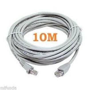 Cable De Red Patch Cord 10 Metros Armado Utp Cat.5e Rj45