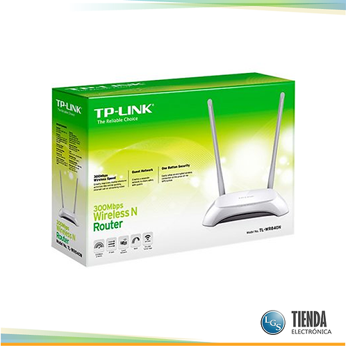 Router Wifi Wireless 2 Antenas Tp Link