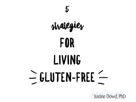 5 Strategies for Living Gluten-Free