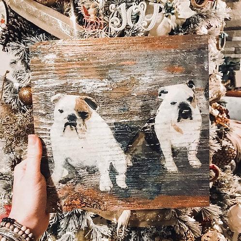 Made to Order: Custom Photos on Reclaimed Barn Wood