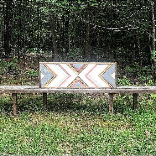 SOLD: Custom Reclaimed Wood Wall Art