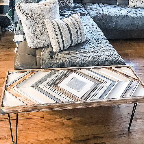 SOLD: Antique Trim Table