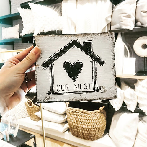 """SOLD: """"Our Nest"""" Mini"""