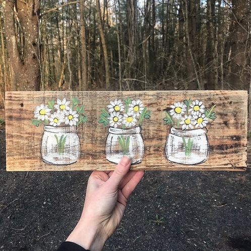 SOLD: Reclaimed Wood Sign