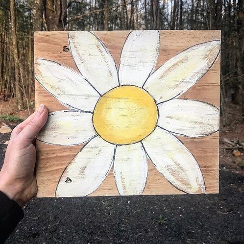 Reclaimed Wood Daisy