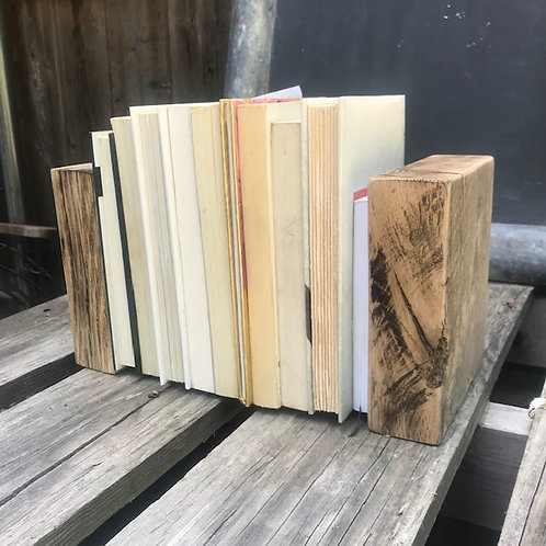 Made to Order - Reclaimed Oak Bookends
