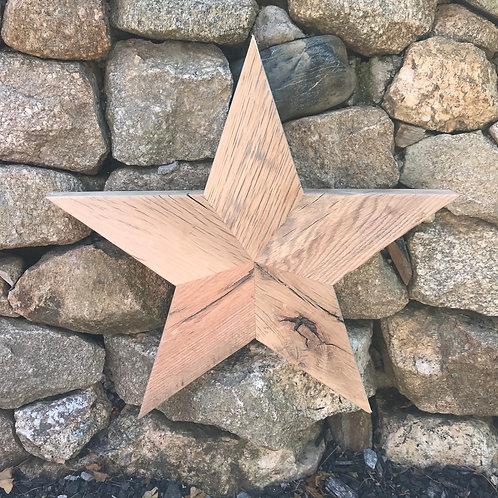 SOLD: Reclaimed Oak Star