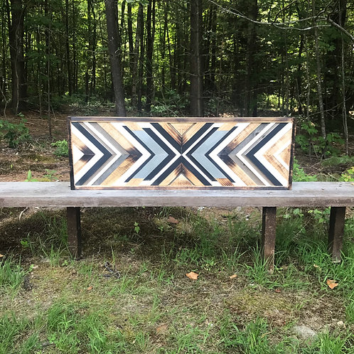 SOLD: Reclaimed Wood Wall Art