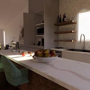 La cuisine terrazzo