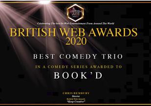 British Web Awards Certificate