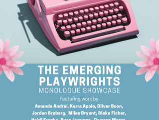 The Emerging Playwrights Monologue Showcase