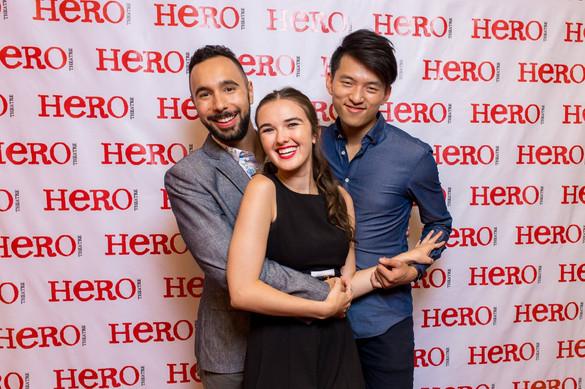 With Hero Associate Artistic Director, Gabe Figueroa
