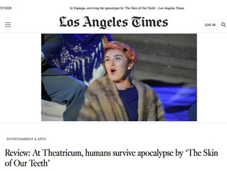 LA Times Reviews 'Skin of Our Teeth'