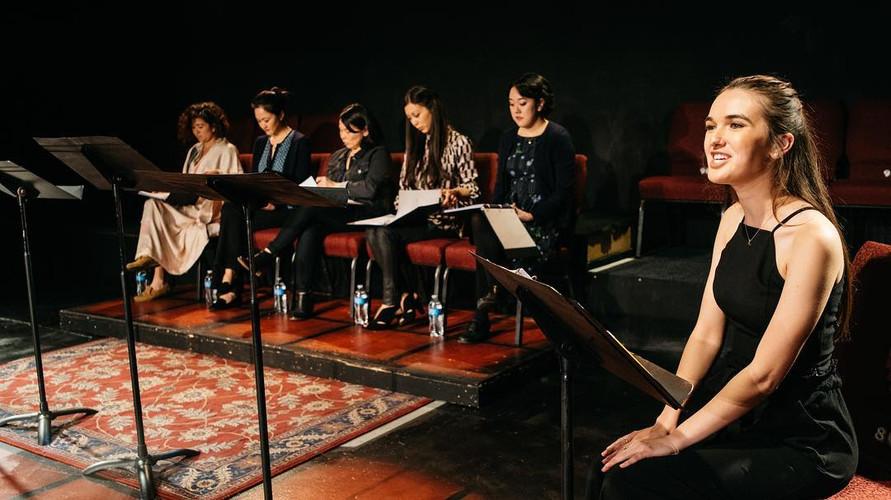 "Staged reading of ""TEA"" by Velina Hasu Houston"