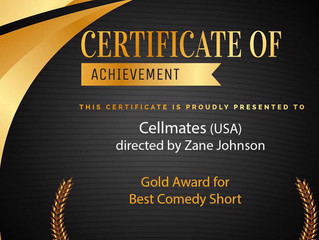 'Cellmates' Wins at Independent Shorts Award