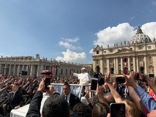 'Gratitude at the Vatican: An Unexpected Easter Blessing' - new travel article up!