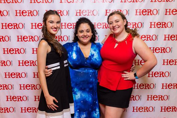 With Hero Artistic Director, Elisa Bocanegra