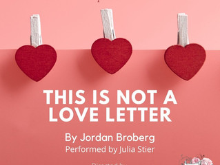 'This is Not a Love Letter'
