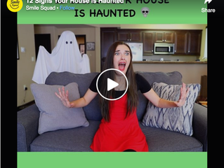 '12 Signs Your House is Haunted'