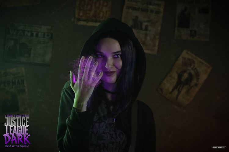 As Raven Roth in Justice League: Dark