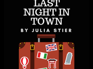 """Last Night in Town"" goes to NYC!"