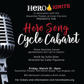 Hero Song Cycle Cabaret