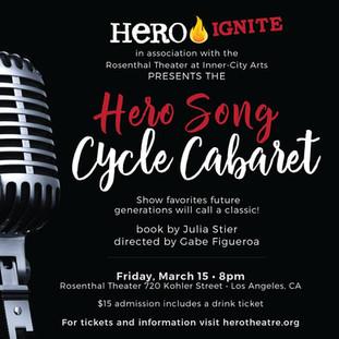 Hero Song Cycle Cabaret