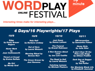 The OJP Word Play Online Festival