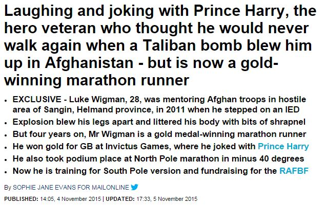 Daily Mail 2015