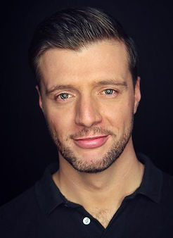 Jamie Brown actor headshot