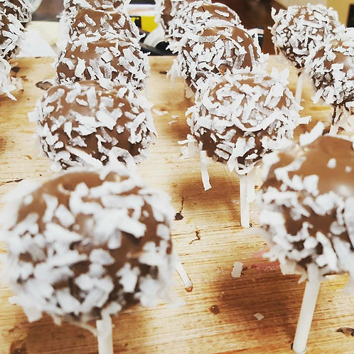 Coconut Cake Pop