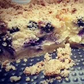 Blueberry Crumb Cheesecake