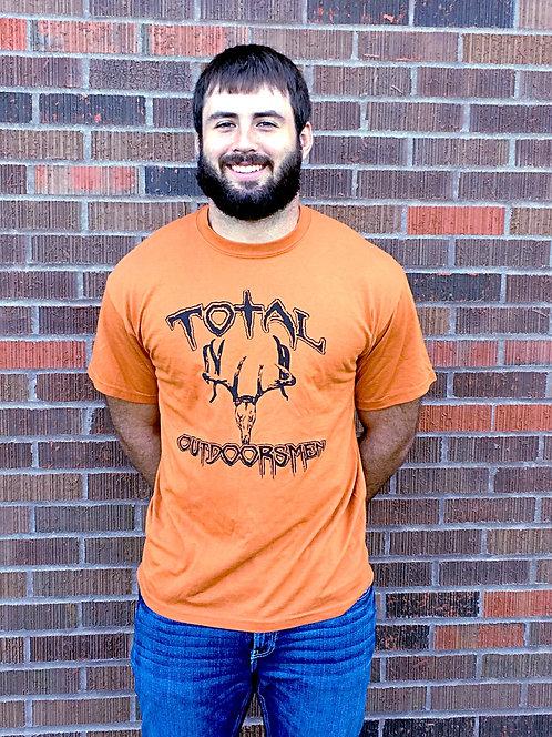 Orange Short Sleeve Logo T-Shirt