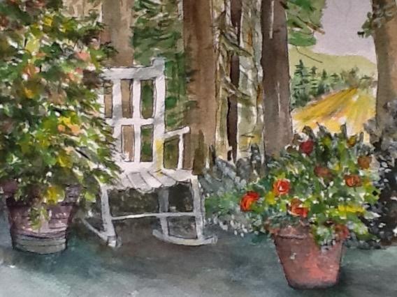 Garden View 8x12