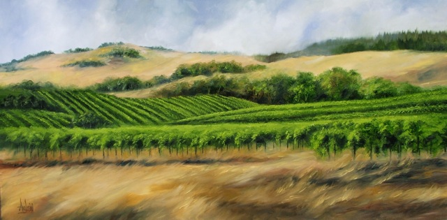 Alexander Valley by Dee Andreini