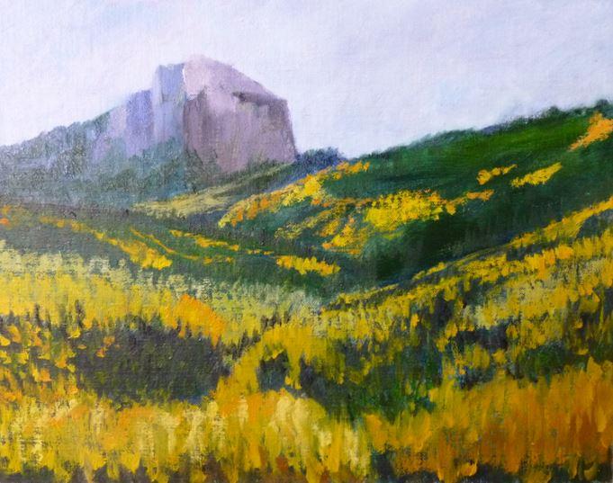 Colorado Aspens by Sharon Modrick