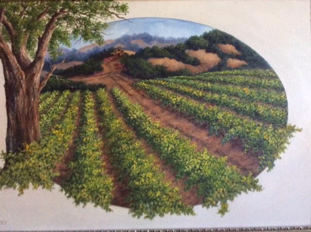 Vineyard by Linda Bones