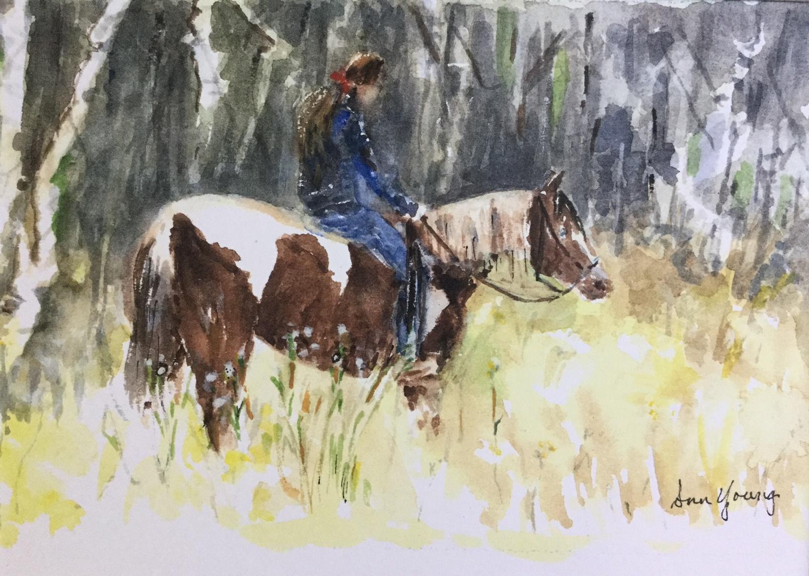 Quiet Ride 8x10