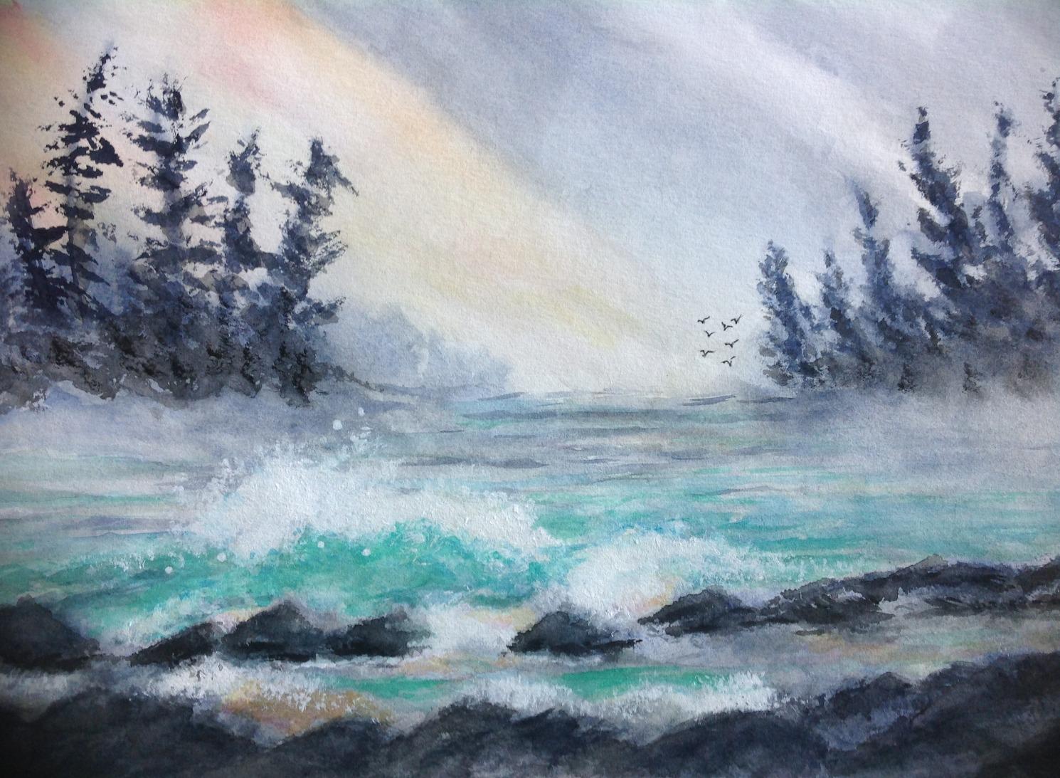 Early Dawn by Winnie Nemiroff